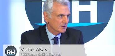 """Michel Akavi, PDG de DHL Express France : """"Nos métiers sont devenus sexy grâce au digital"""""""