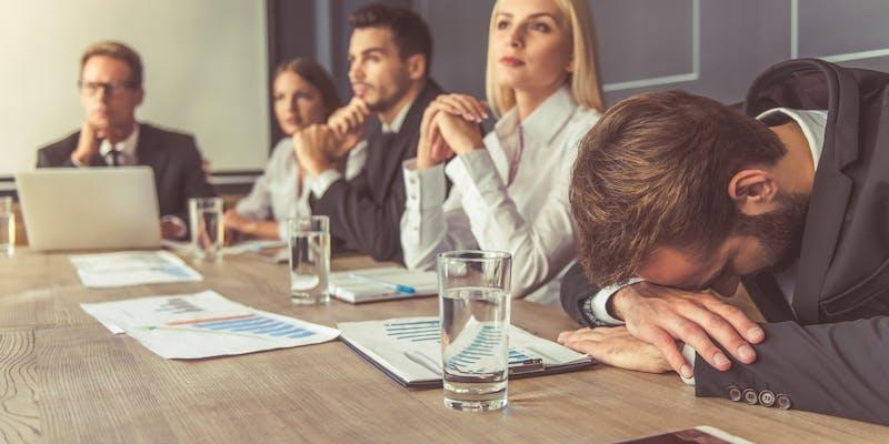 Réunion de travail : 4 erreurs à éviter