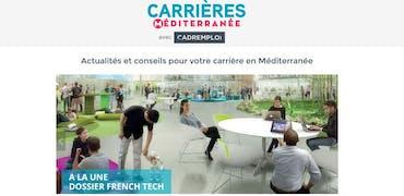 Cadremploi lance le site Carrières Méditerranée