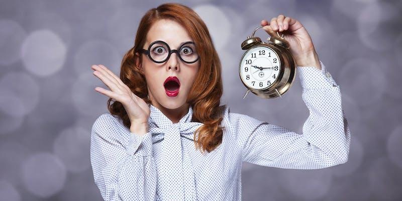 Réunions, rendez-vous, dossiers à rendre… : 8 astuces pour ne plus jamais être en retard