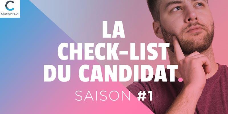 La Check-List du candidat # 3 : Parlez-moi de vous