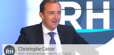 """Christophe Catoir (Adecco) : """"Les candidats sont testés sur leurs facultés émotionnelles"""""""