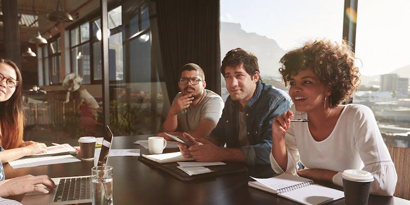 97 % des salariés épanouis quand ils travaillent dans une équipe mixte