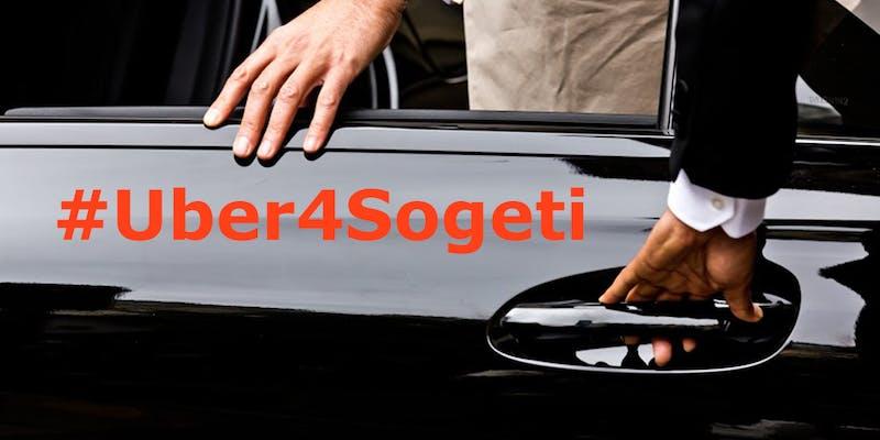 Un entretien d'embauche chez Sogeti ? Uber vient vous chercher