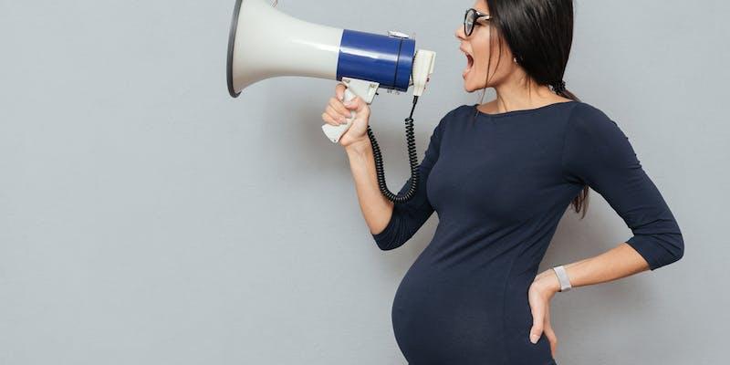 femme enceinte cherche travail