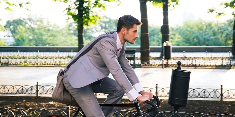 Trajet domicile-travail à vélo, enjeu écologique et économique