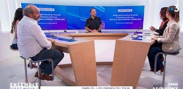 Vu sur France 3 Ile-de-France : 2 offres d'emplois liés à la sécurité des sites Seveso
