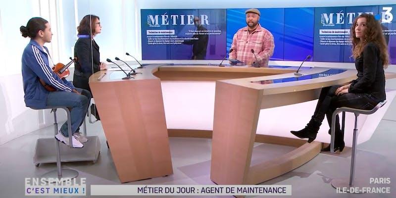 Vu sur France 3 Ile-de-France : la maintenance industrielle recrute et les reconversions y sont possibles