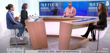 Vu sur France 3 Ile-de-France : la maintenance industrielle recrute et les reconversions y sont possibles