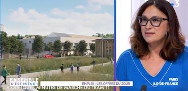 Vu sur France 3 Ile-de-France : 2 offres d'emploi de