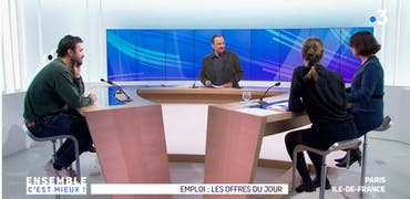 Vu sur France 3 Ile-de-France : ORL et ciseaux génétiques, 2 histoires d'offres d'emploi sur Cadremploi