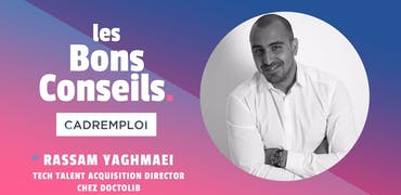 Rassam Yaghmaei, Tech Talent acquisition Director chez @doctolib :