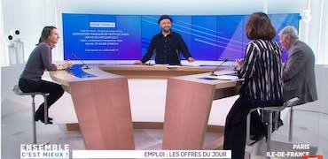 Vu sur France 3 Ile-de-France : biotech et Footgolf, 2 étonnantes histoires d'offre d'emploi sur Cadremploi