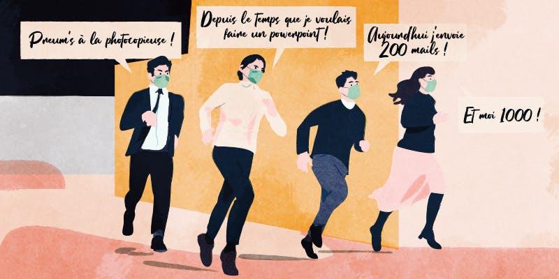 """La solitude des """"non-stop"""" face aux """"reprenants"""" survoltés"""