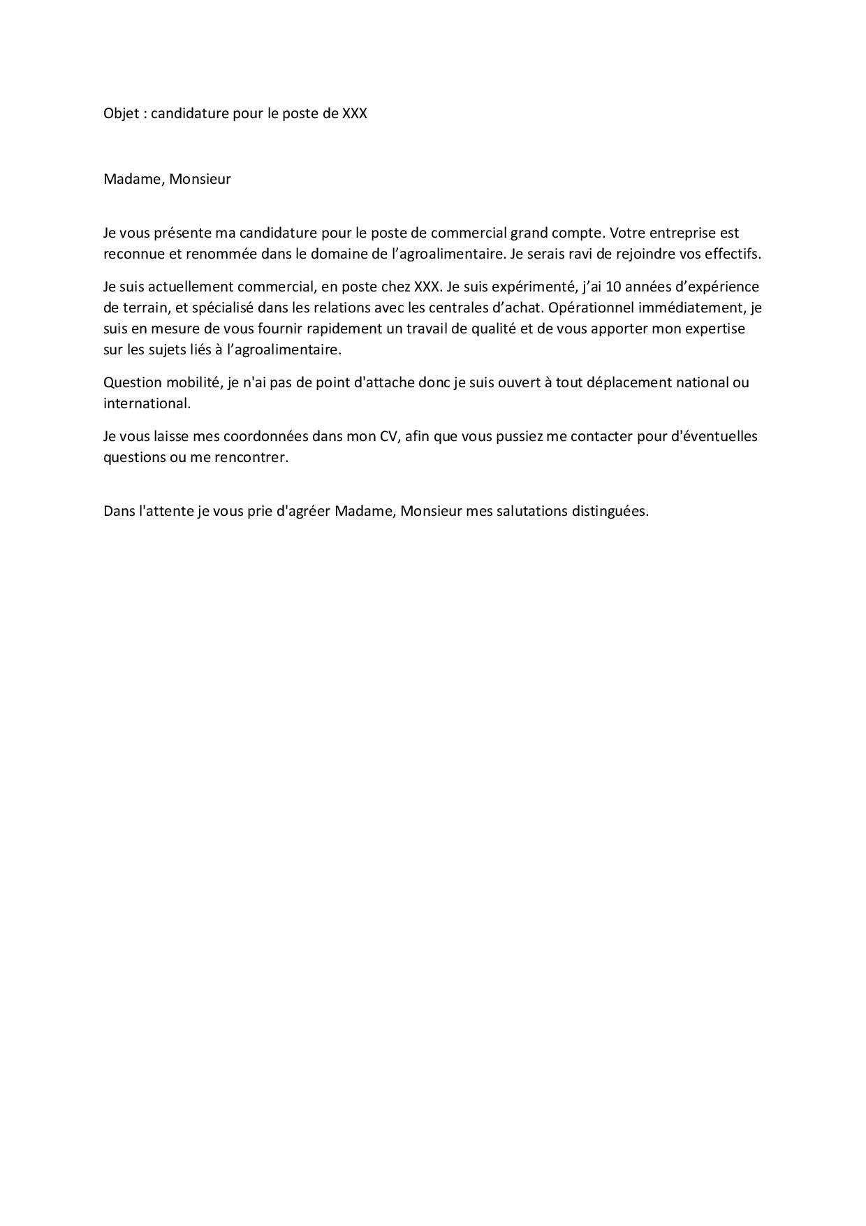 Mail De Motivation Bons Exemples Et Conseils Pour Le Reussir Cadremploi