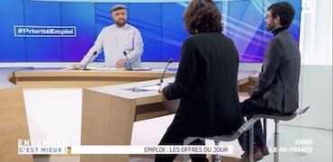 Vu sur France 3 Ile-de-France : Community manager et Social media manager, infos métiers et offres d'emploi sur Cadremploi