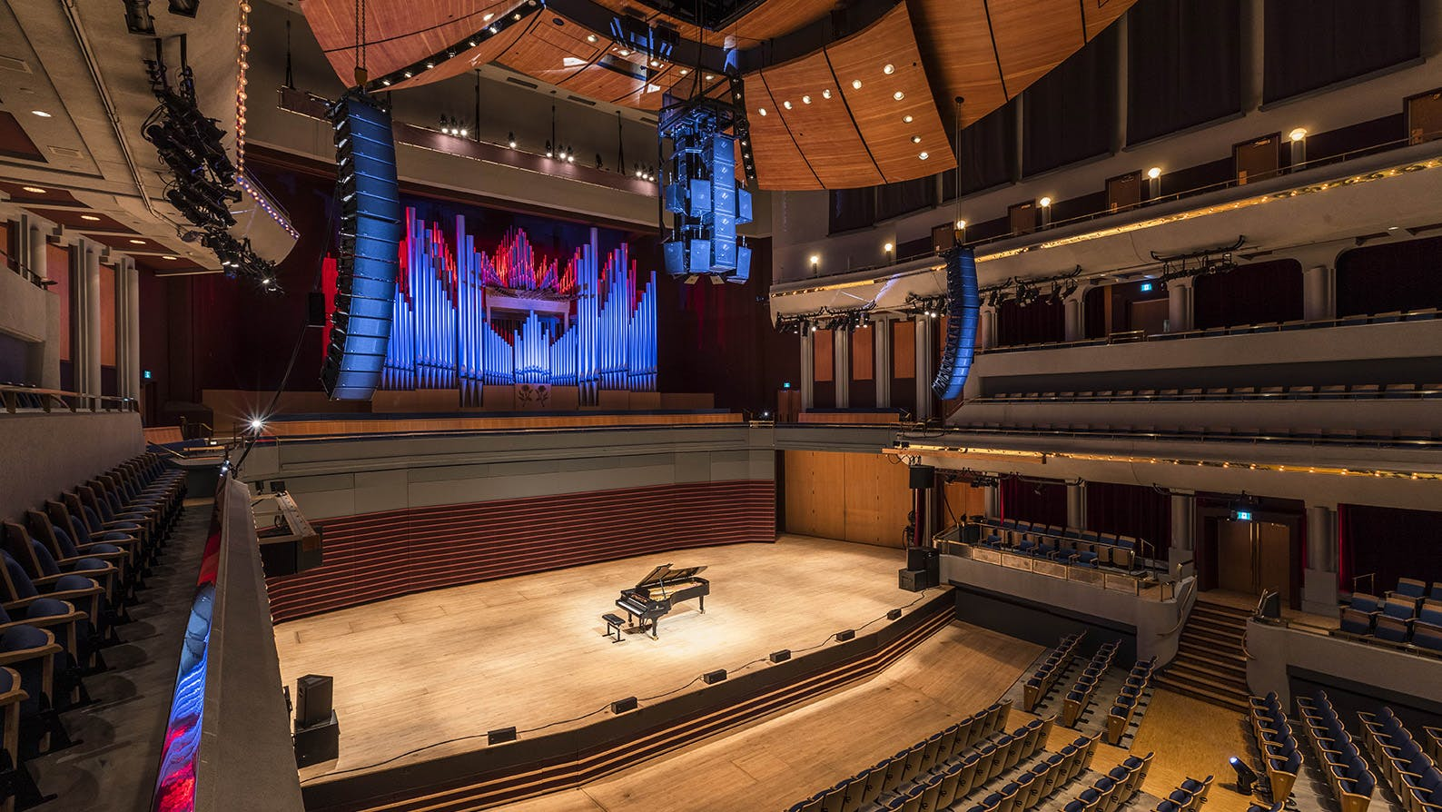 Jack Singer Concert Hall audio visual enhancements
