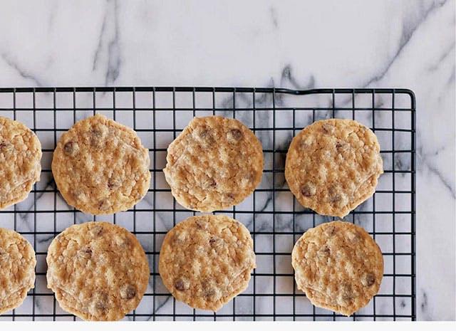 Cookies d'amour par Yves Camdeborde (Recette de base de chez Laura Tood)