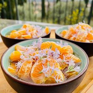 Soupe Mandarine Romarin