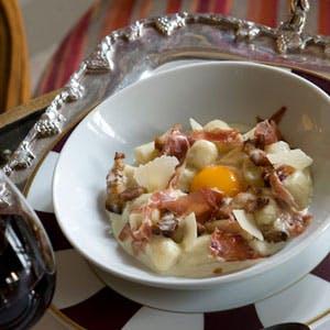 Gnocchi de pomme de terre façon Carbonara