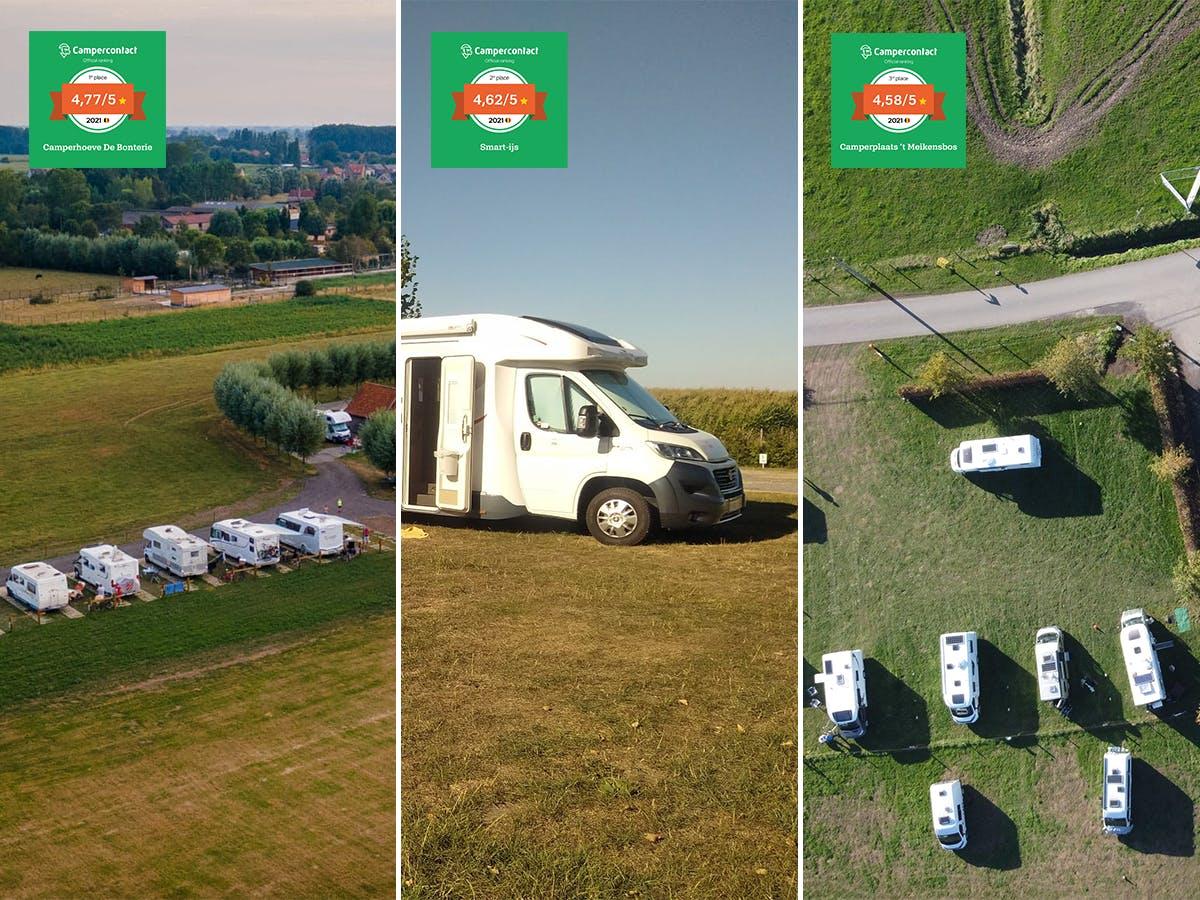 Wohnmobilstellplätze des Jahres 2021 - Belgien