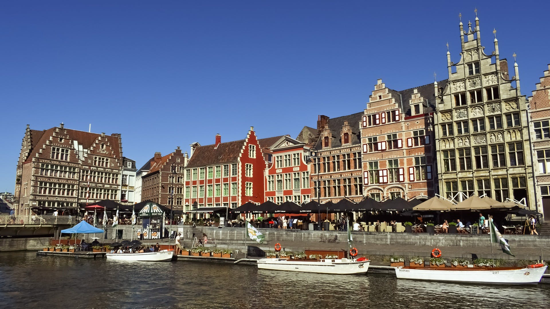 Campercontact country information - Ghent, Belgium