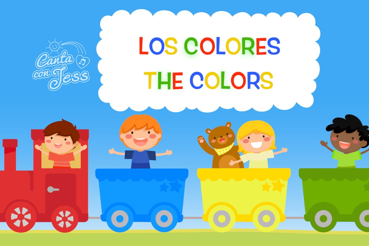 Primary Colors in Spanish for Kids - Los Colores