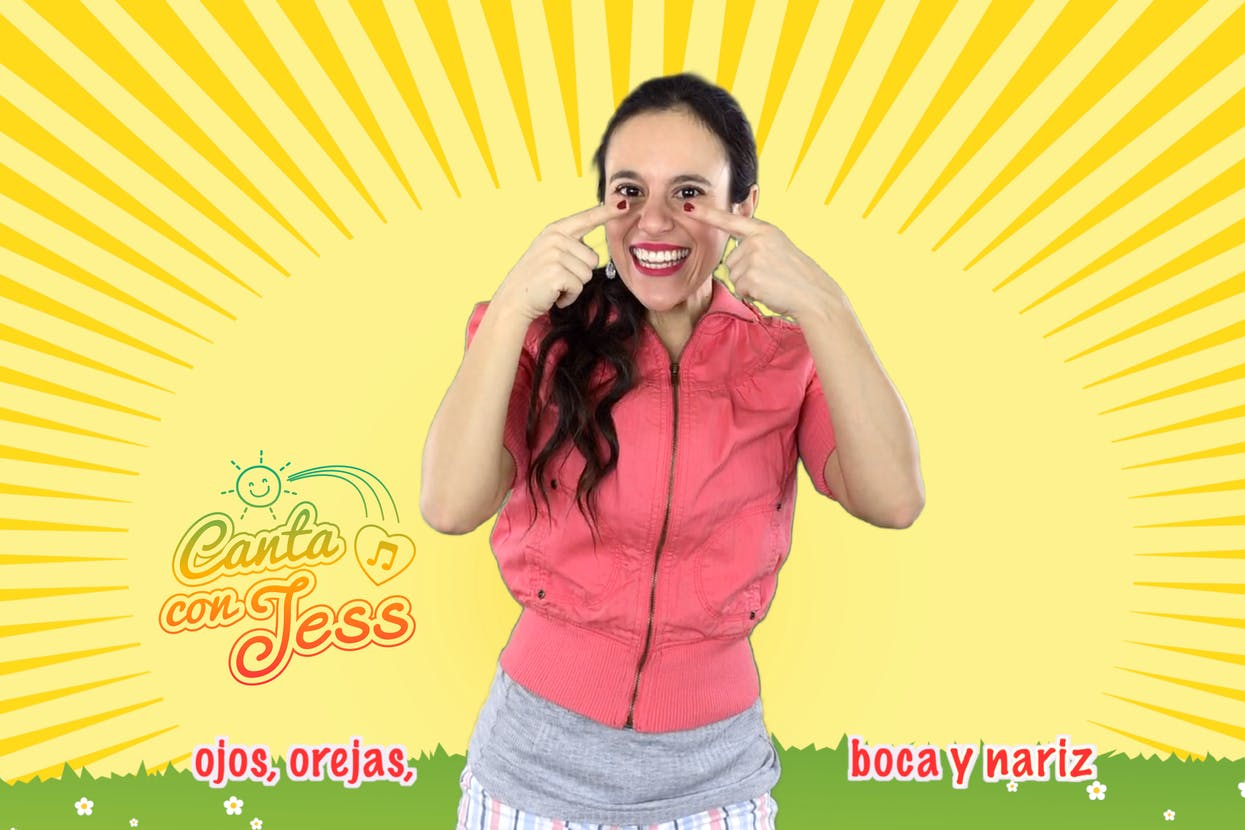 Head, Shoulders, Knees and Toes in Spanish - Song and Lyrics