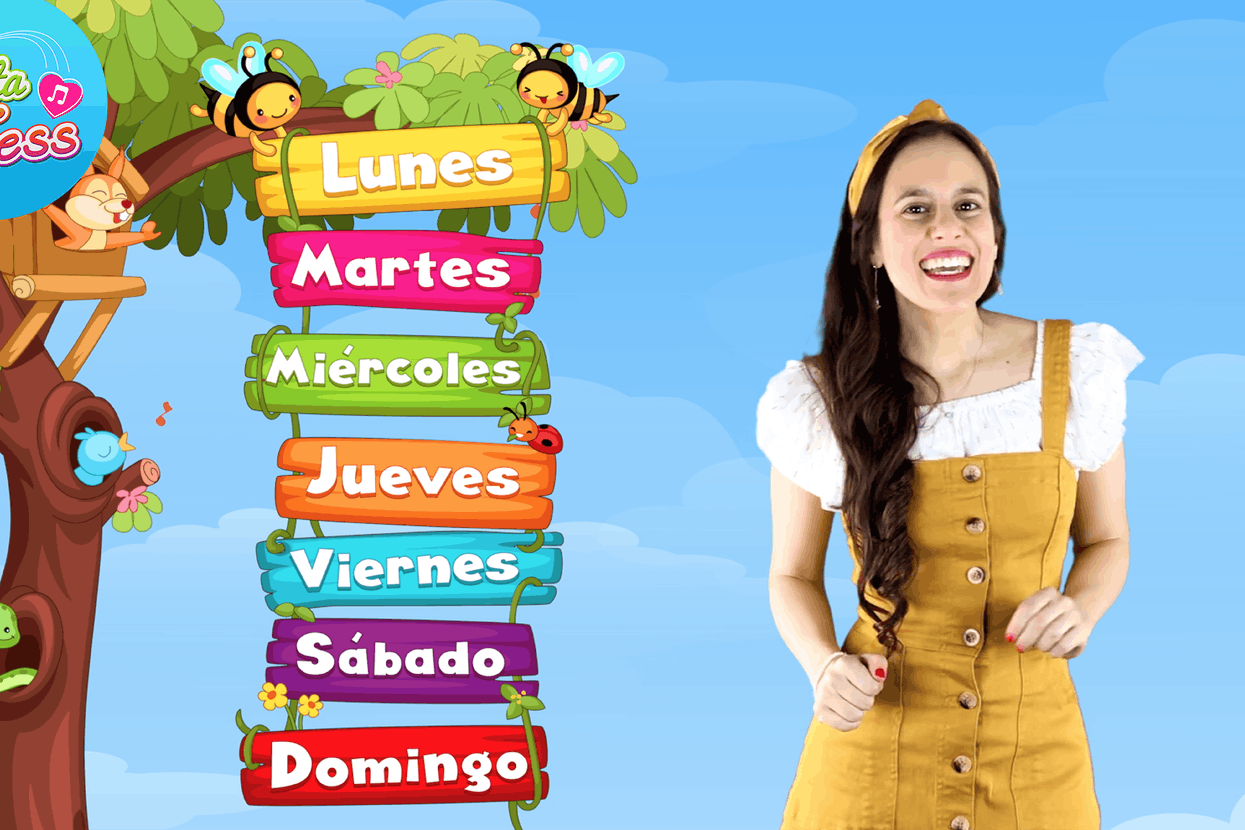 Days of the Week Song in Spanish