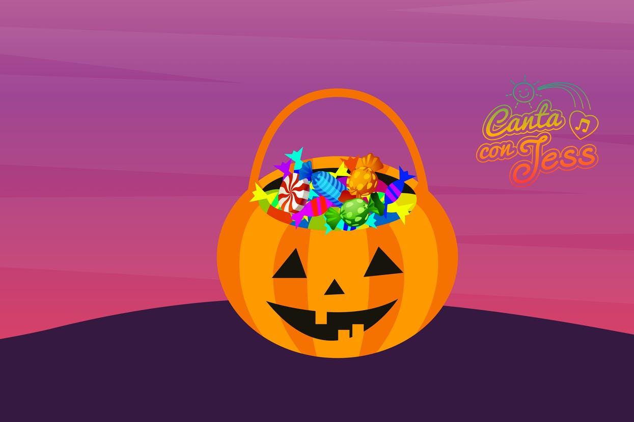 Trick or Treat in Spanish is Truco o Trato - Spanish Translation of Trick or Treat | Spanish Halloween Vocabulary
