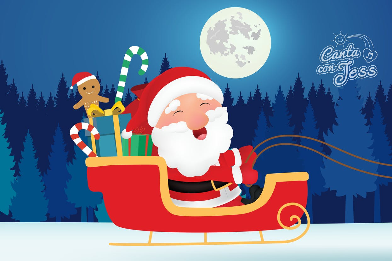 Jingle Bells in Spanish - Video and Lyrics - Christmas Song in Spanish
