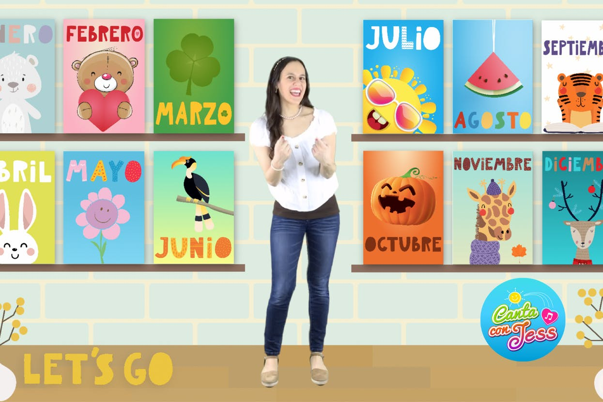 Months of the Year in Spanish - Los Meses del Año
