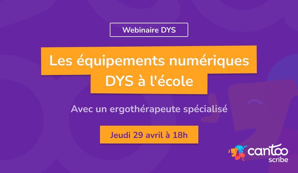 Les équipements numériques DYS à l'école