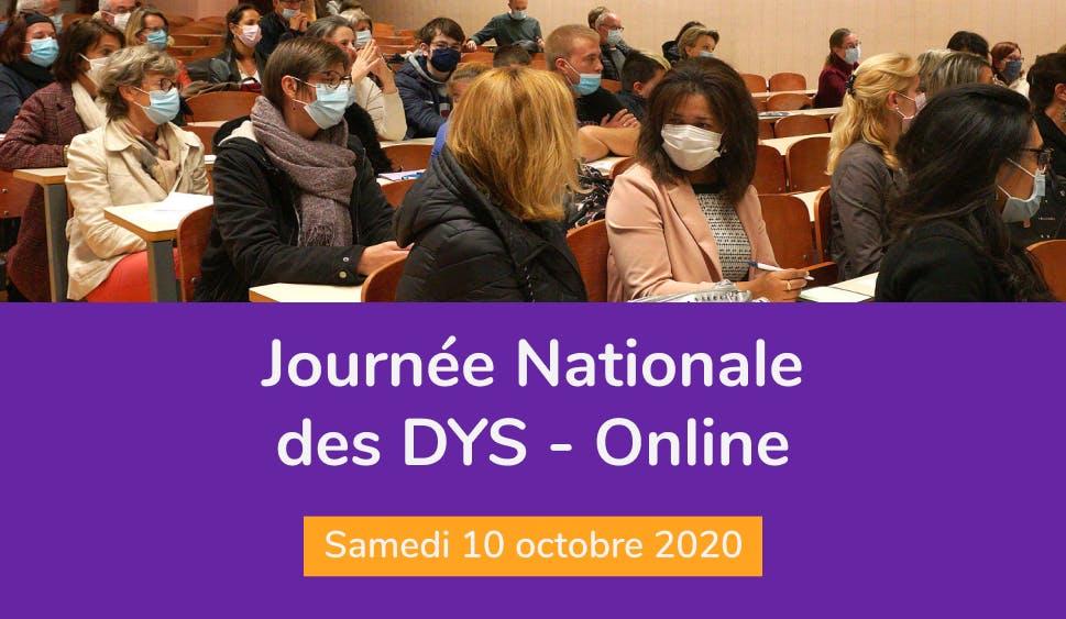 Journée Nationale des DYS online avec Cantoo Scribe - Samedi 10 octobre 2020