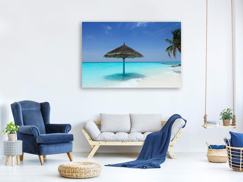 Leinwandbild Traum Malediven