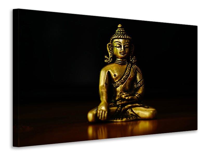 Leinwandbild Tempel Buddha