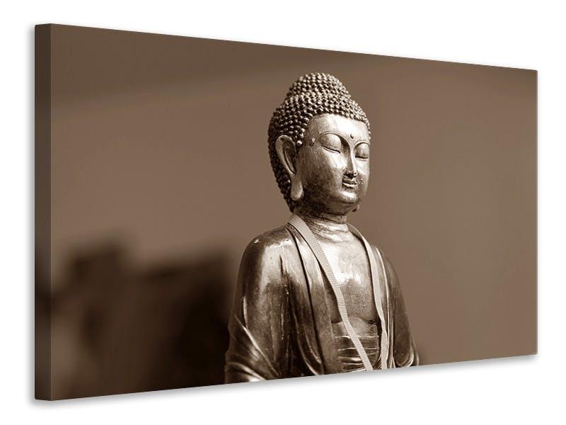 Leinwandbild Buddha in Meditation XL