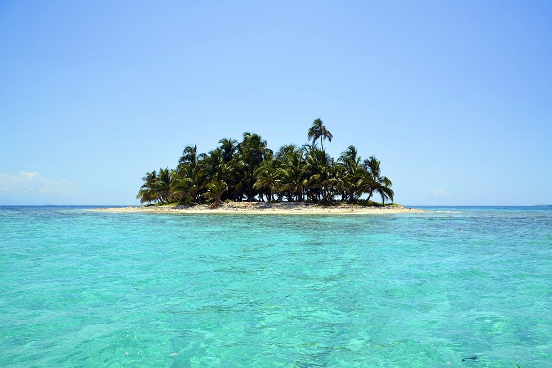 Leinwandbild Meine eigene Insel