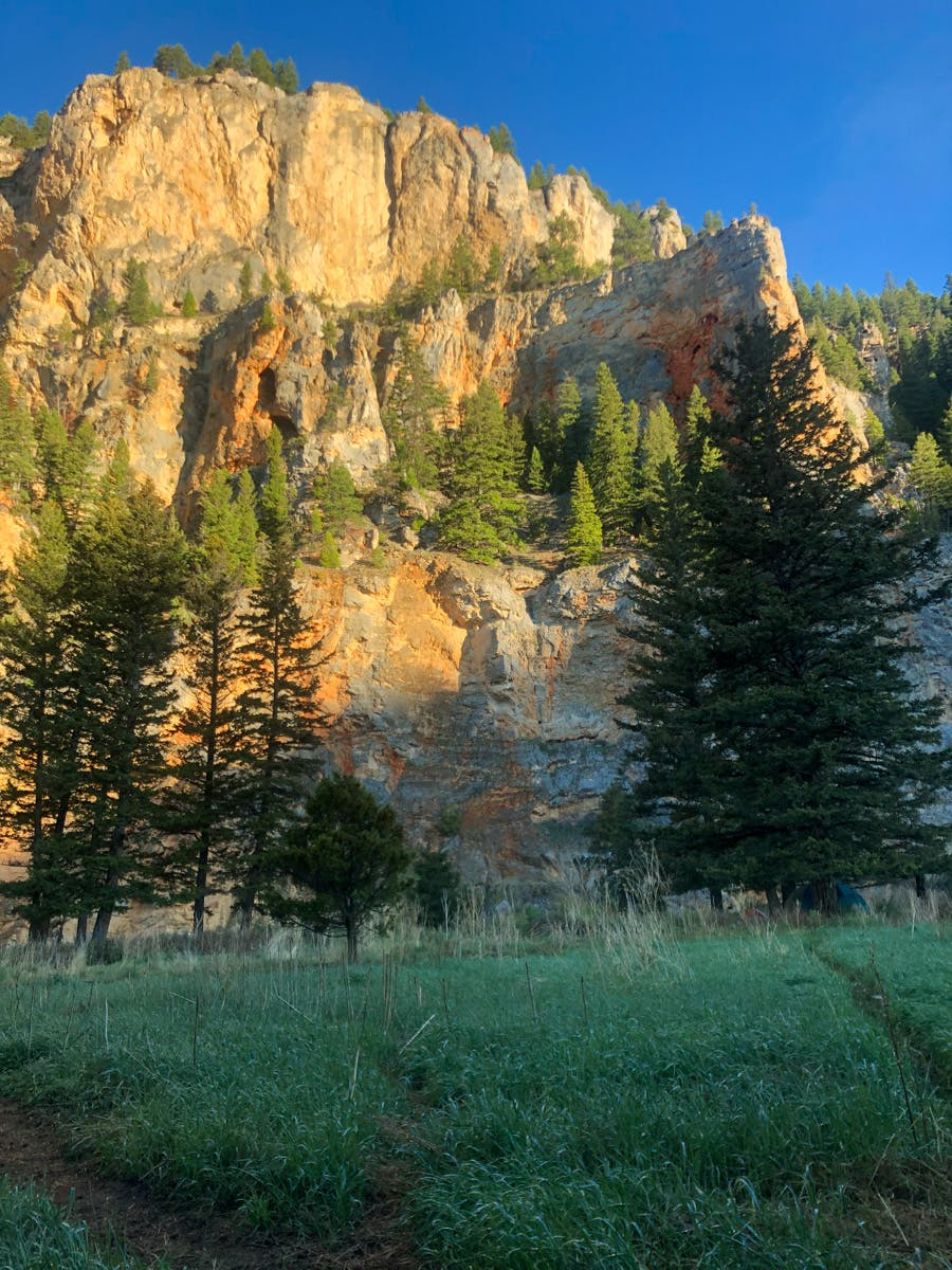 Sunset Cliffs, Montana