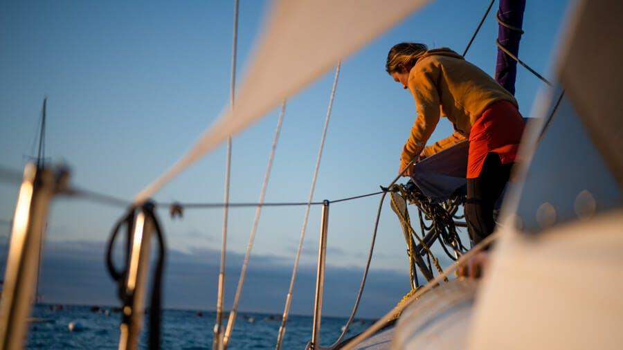 Sailing Catalina Island