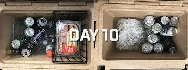Ice remaining Day 10