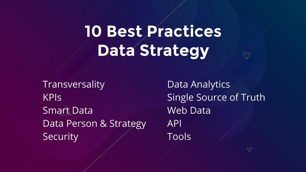 10 Best Practices Data Strategy