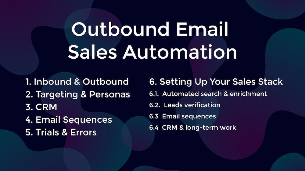 Outbound Email Sales Automation Best Practices