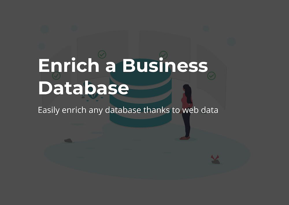 Enrich a business database