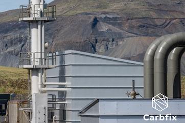 Carbfix capture plant in Hellisheiði