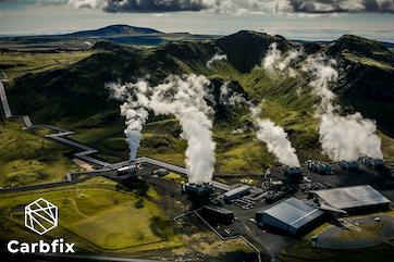Hellisheiði geothermal power plant.