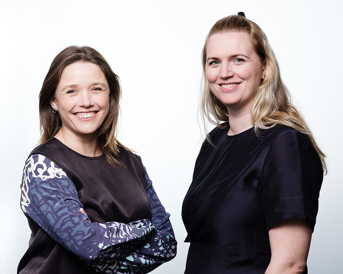 Berglind Rán Ólafsdóttir og Edda Sif Aradóttir, Framkvæmdastýrur