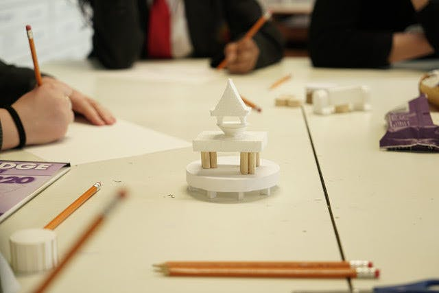 Co-creation workshop at Burntwood School.Photograph: Keying Chen