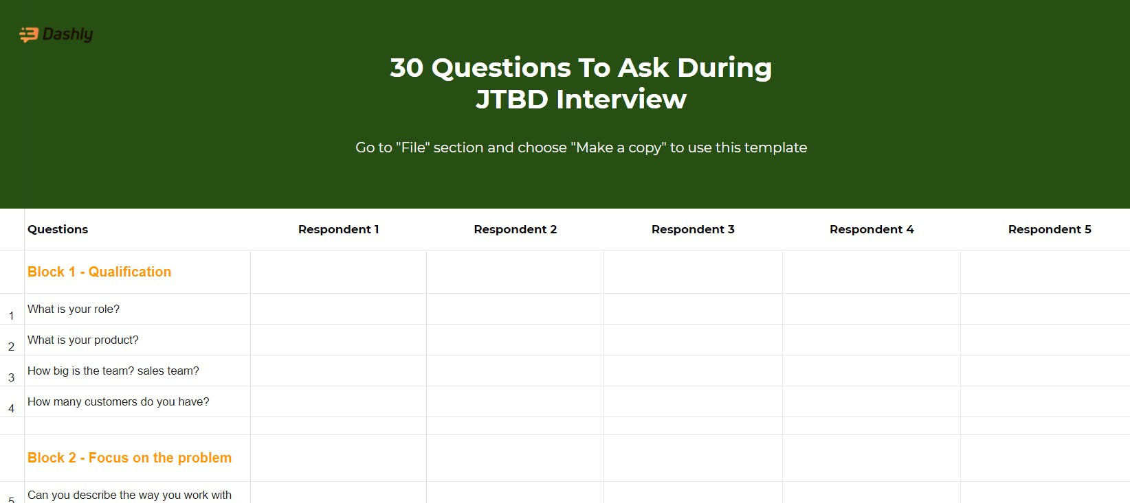 30 Questions To Ask During JTBD Interview