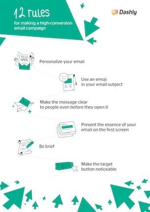 12 rules for email campaign